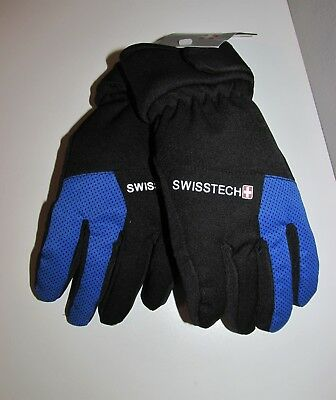 Boys Swiss Tech 3M Thinsulate Ski Gloves (Size L/XL) BRAND NEW W TAGS