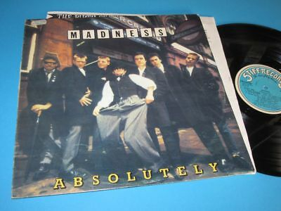 Madness / Absolutely (Portugal 1980, Stiff Records SEEZ 29 NP) - LP