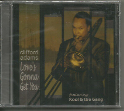 Clifford Adams - Love's Gonna Get You - Feat. Kool & The Gang!! New!!!~~~~~