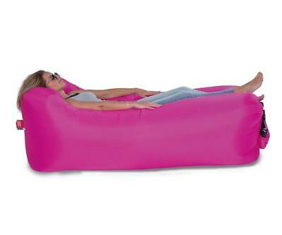 Luftsofa / Luftliege Lounger To Go 240x70cm pink Happy People 78093