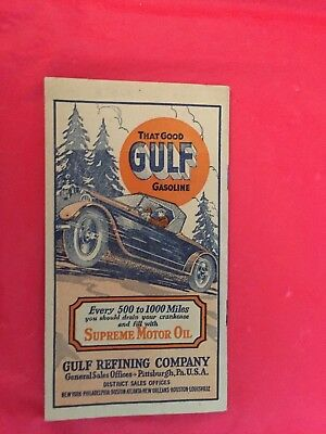 "x. 1927 ""Pennsylvania The Vehicle Code Primer"" Gulf Refining Company"