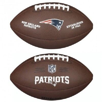 NFL Football New England Patriots Composite Spielball Wilson official full size