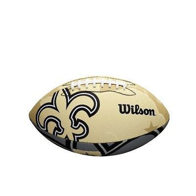 NFL Football New Orleans Saints Junior Size Team Logo von Wilson neu