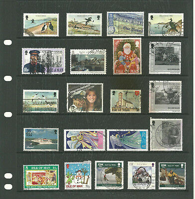 Channel Island 5 stock sheets  collection stamps