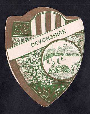 BAINES shield RUGBY Well Played DEVONSHIRE 15 North Parade BRADFORD