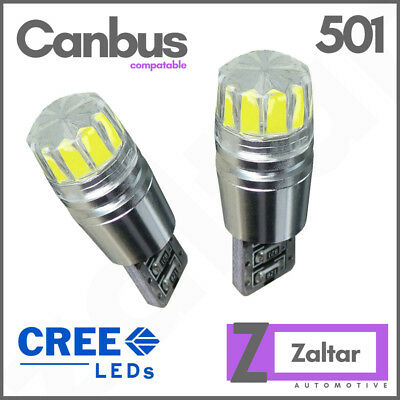 Error Free T10 W5w 501 Led Bulbs Cree Car Side Interior Lights Wedge Lamp Canbus
