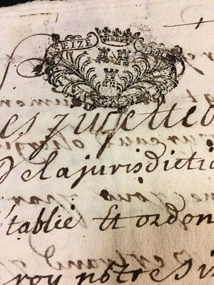 LOT OF TWO MANUSCRIPTS 1700s 14 pages