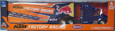 "NewRay - Peterbilt US Race Truck ""KTM Factory Racing Red Bull 2017"" 1:43 Neu/OVP"