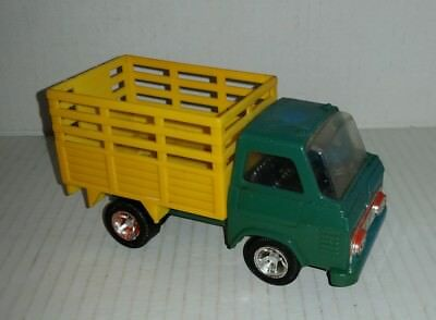 1970's vintage Playart toy farm truck Made in Hong Kong