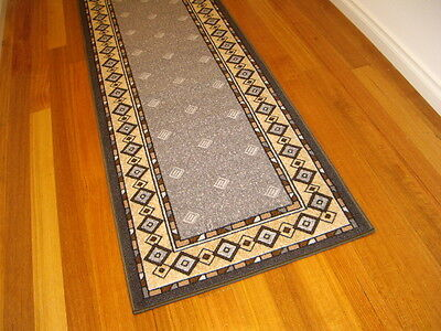 Hallway Runner Hall Runner Rug Modern Grey 5 Metres Long Free Delivery 35645