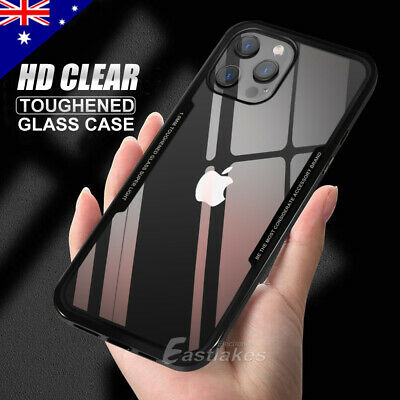 iPhone X XS MAX XR 7 8 Plus Shockproof Case Cover Hybrid Toughen Glass for Apple