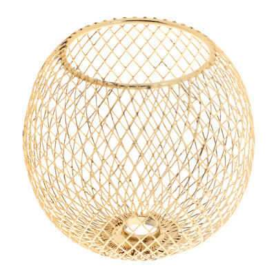 Iron Gold Lamp Shade Chandelier Shade Ceiling Light Cage Pendant Shade