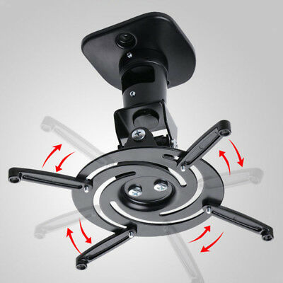Universal Ceiling Projector Mount Black