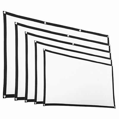 72''/84''/100''/120''Projector Screen 16:9 Home Cinema Theater Projection /Set