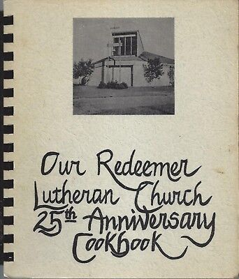 ST PAUL MN 1977 OUR REDEEMER LUTHERAN CHURCH RECIPES COOK BOOK 25th ANNIVERSARY