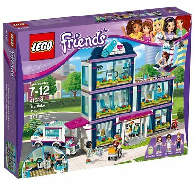 Lego Friends Heartlake Hospital 41318 Building Kit 871 Piece