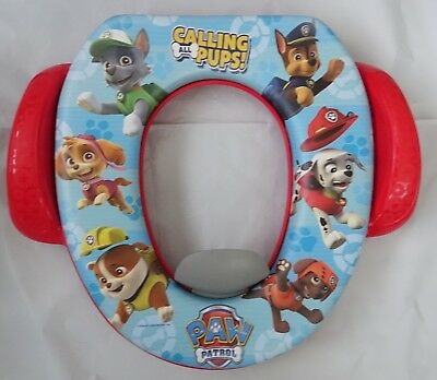 Brilliant Nickelodeon Paw Patrol Calling All Pups Soft Potty Seat New Ncnpc Chair Design For Home Ncnpcorg