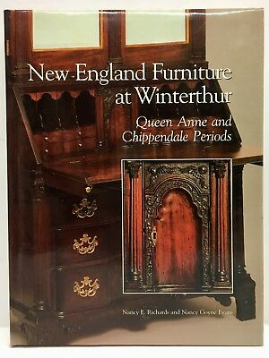 New England Furniture At Winterthur Queen Anne Chippendale Signed By Author 1997