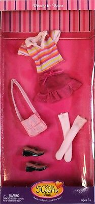 Only Hearts Club Ready to Wear Pink Fashion Outfit 221 Top Skirt Socks Shoes Bag