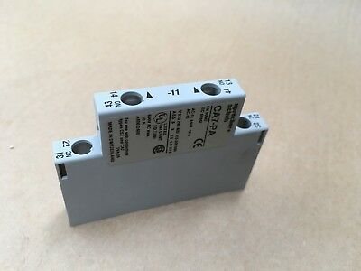 Sprecher + Schuh Auxiliary Contacts Side Mnt Ca7-Pa-11 Industrial