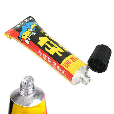 18ml Super Adhesive Repair Glue For Shoe Leather Rubber Canvas Tube Strong Bond