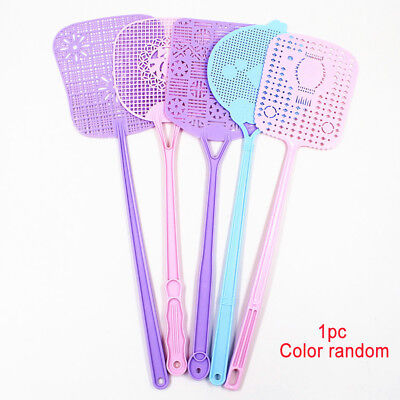 Portable Fly Swatter Insect Mosquito Bug Wasp Swat Killer Catcher Plastic Swat