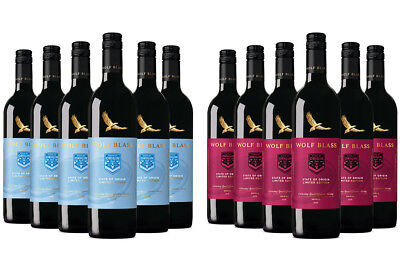 Wolf Blass State of Origin Edition Shiraz (6 x 750mL), SE AUS