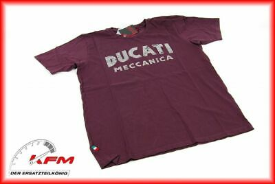 Original Ducati Performance Wear T-Shirt Tshirt shirt Meccanica Größe XL Neu*