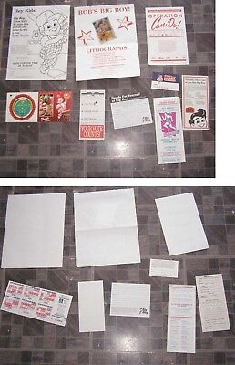 Big Boy Lot Flyers Pamphlets Cincinnati Reds MLB Baseball Schedule +
