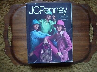 Vintage JCPenney Fall And Winter Catalog 1974