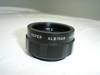 SUPER ALBINAR 2x auto  converter  lens - for M42 screw mount camera