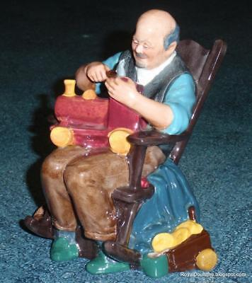"""Royal Doulton """"The Toymaker"""" Figurine HN 2250 - Rare Retired Collectible Piece!"""