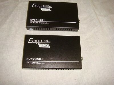 EVOLUTION by VANCO EVEXHDB1 HDBaseT EXTENDER for HD 1080p & 4K UHD