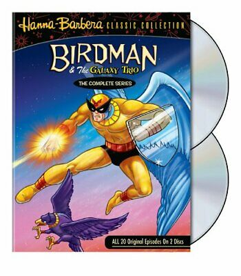 Birdman & The Galaxy Trio Show: The Complete Series [DVD] NEW!