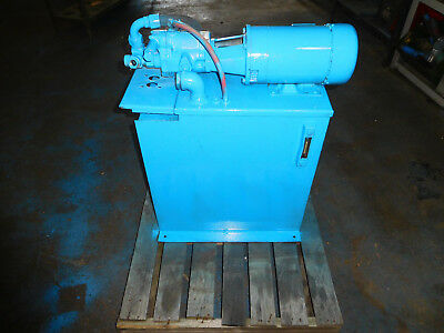 Vickers PVB6A-RS-20-CA-11  2 HP 6 GPM Hydraulic Power Unit