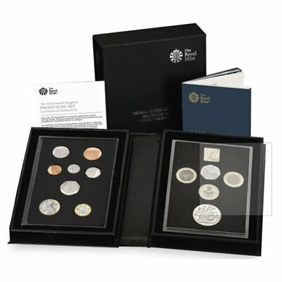 2018 United Kingdom UK Britain Royal Mint 13-Coin Annual Collector Proof Set