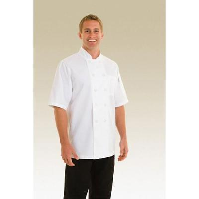 Chef Works Volnay Chef Coat Jacket - White - All Sizes - PCSS