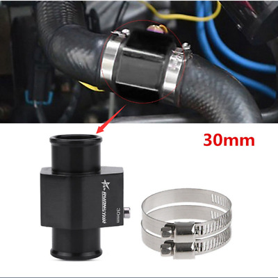 30mm Car Water Temp Temperature Joint Pipe Sensor Gauge Radiator Hose Adapter