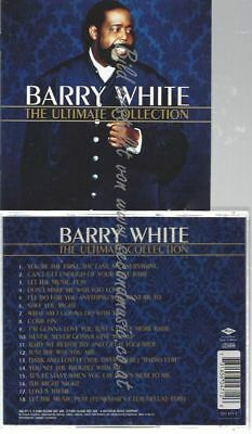 Cd--Barry White--    The Ultimate Collection
