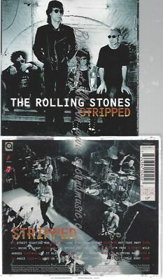 Cd--The Rolling Stones--    Stripped -