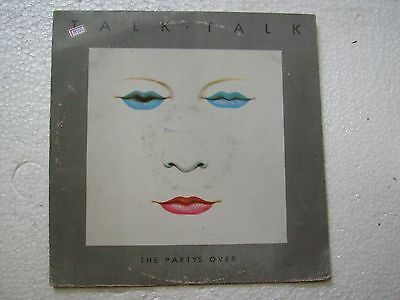 TALK TALK  THE PARTYS OVER  RARE LP RECORD vinyl 1982 INDIA INDIAN ex