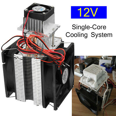 12V 70W Semiconductor Air Refrigeration Thermoelectric Peltier Cooling System