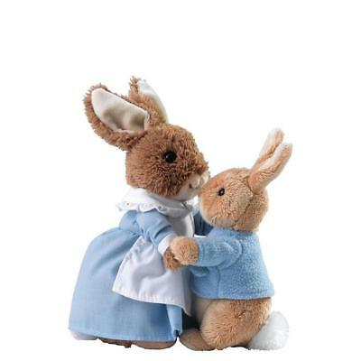Beatrix Potter Peter Rabbit Mrs Rabbit & Peter Plush Soft Toy Baby Gift A28256