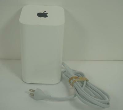 Good Used White Apple Time Capsule 2TB Hard Drive 5th Generation 2013 A1470