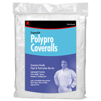 Buffalo 68518 Extra Extra Large Disposable Polypro Coveralls