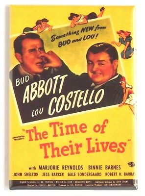The Time of Their Lives FRIDGE MAGNET (2 x 3 inches) movie poster costello