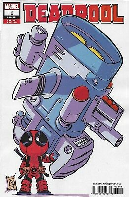 Marvel Deadpool comic issue 1 Limited Young variant