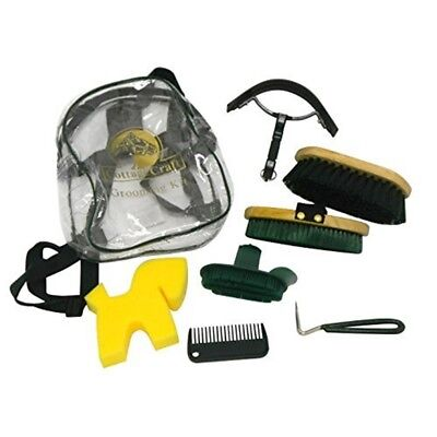 Cottage Craft Grooming Kit - Green - Horse Piece