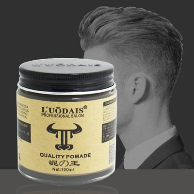 Men Keep Hair Style Strong Restoring Slicked Hair Oil Pomade Wax Styling Mud HRM