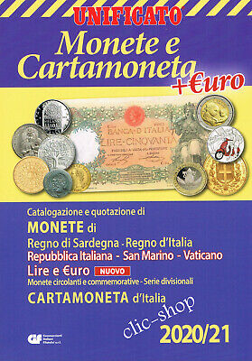 Catalogo Unificato Monete-Cartamoneta D'italia 2019-20
